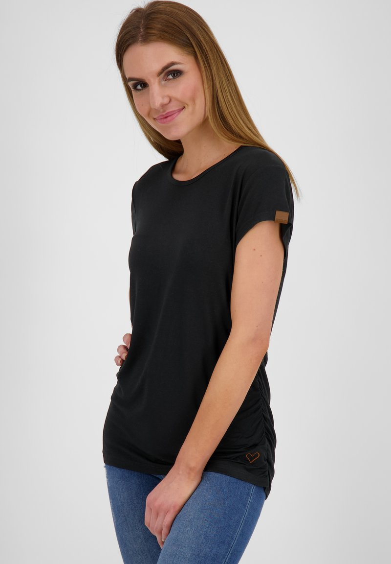alife & kickin - Basic T-shirt - moonless