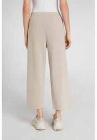 Oui - Trousers - light stone - 2