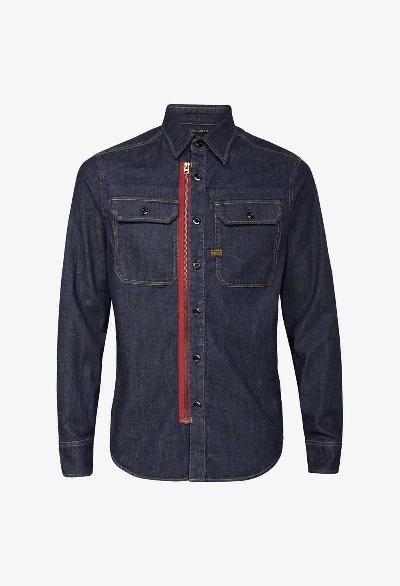 G-Star - UTILITY ZIP REGULAR - Shirt - rinsed
