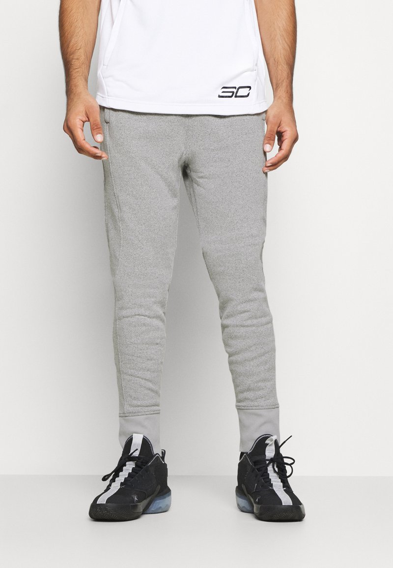 Under Armour - JOGGER - Tracksuit bottoms - pitch gray light heather
