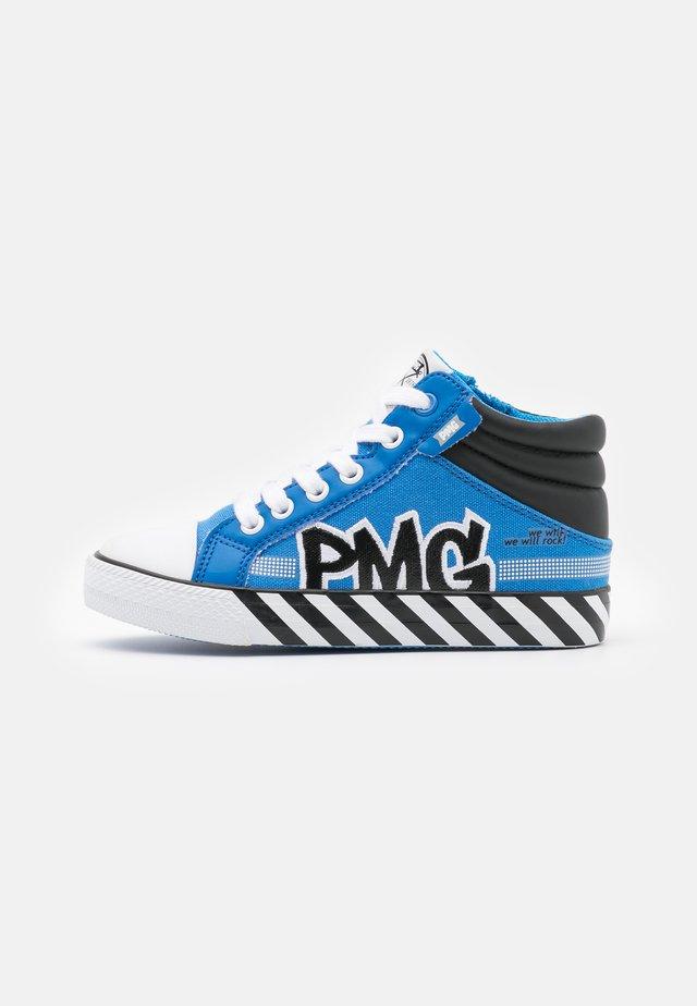 Sneakers hoog - royal/ner
