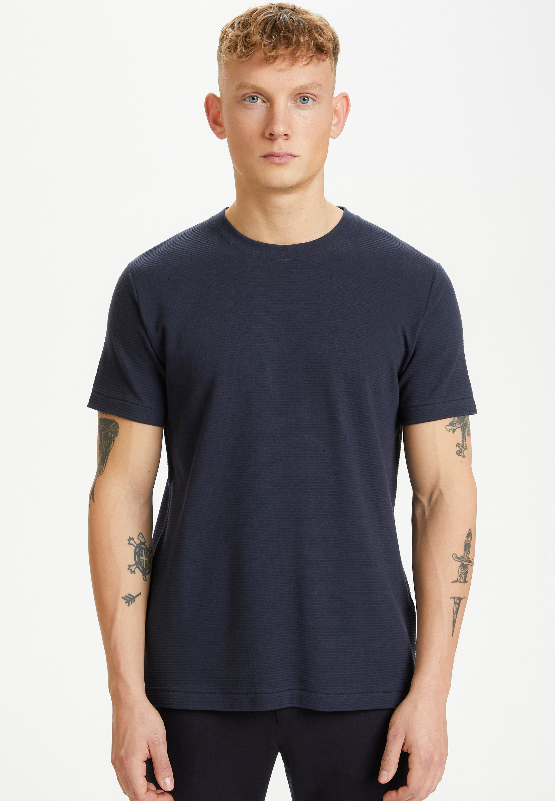 Homme MAJERMANE RIPPLE STRIPE - T-shirt basique