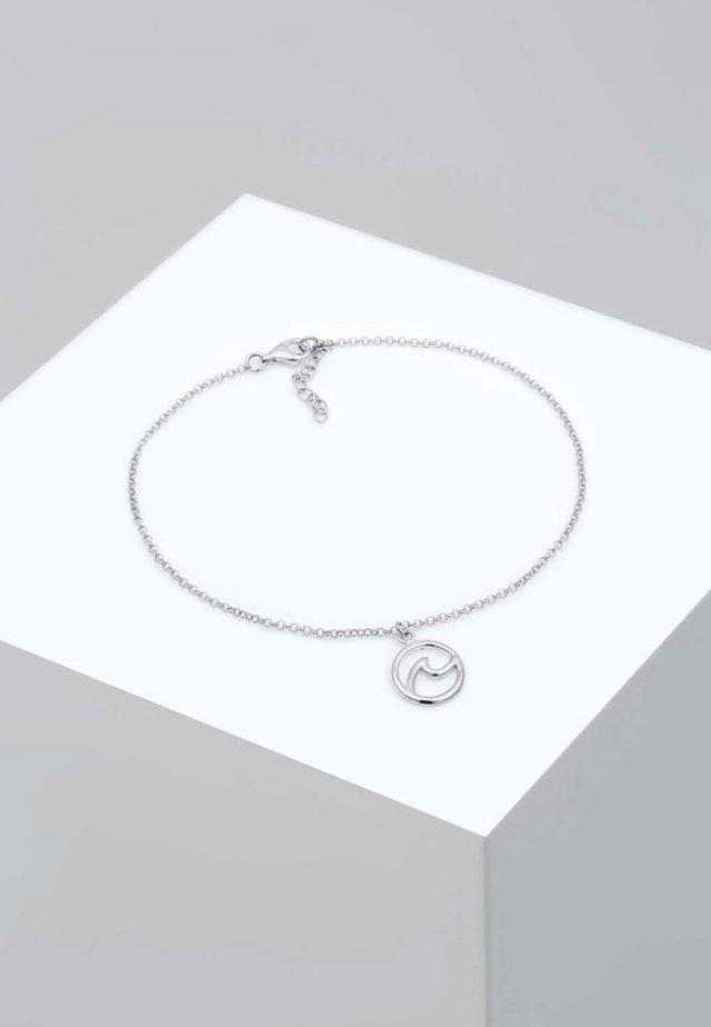 FUSSSCHMUCK WELLE STRAND MARITIM  - Armband - silver-coloured