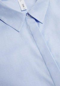 Mango - Button-down blouse - hemelsblauw - 6