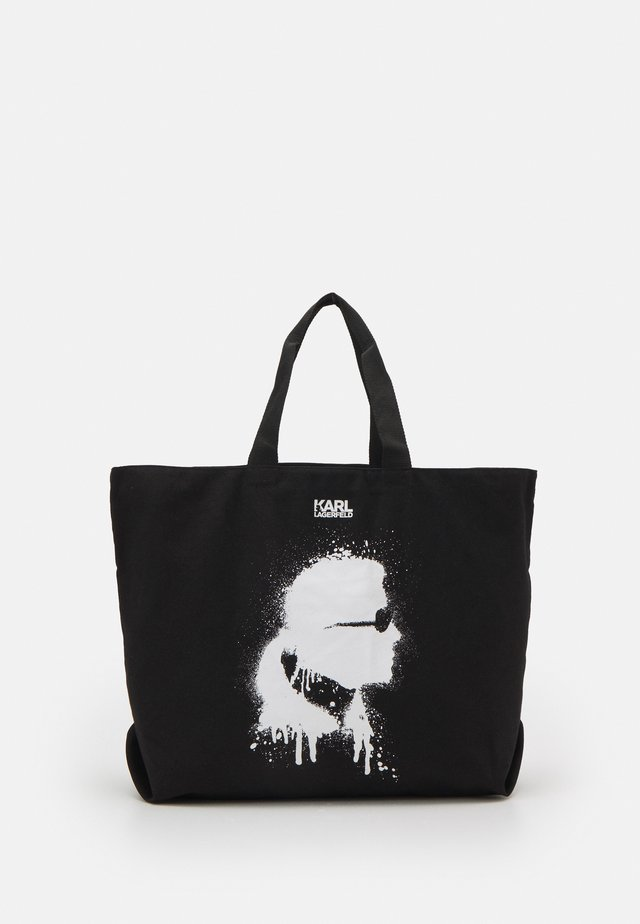 EXCLUSIVE IKONIK TOTE - Cabas - black