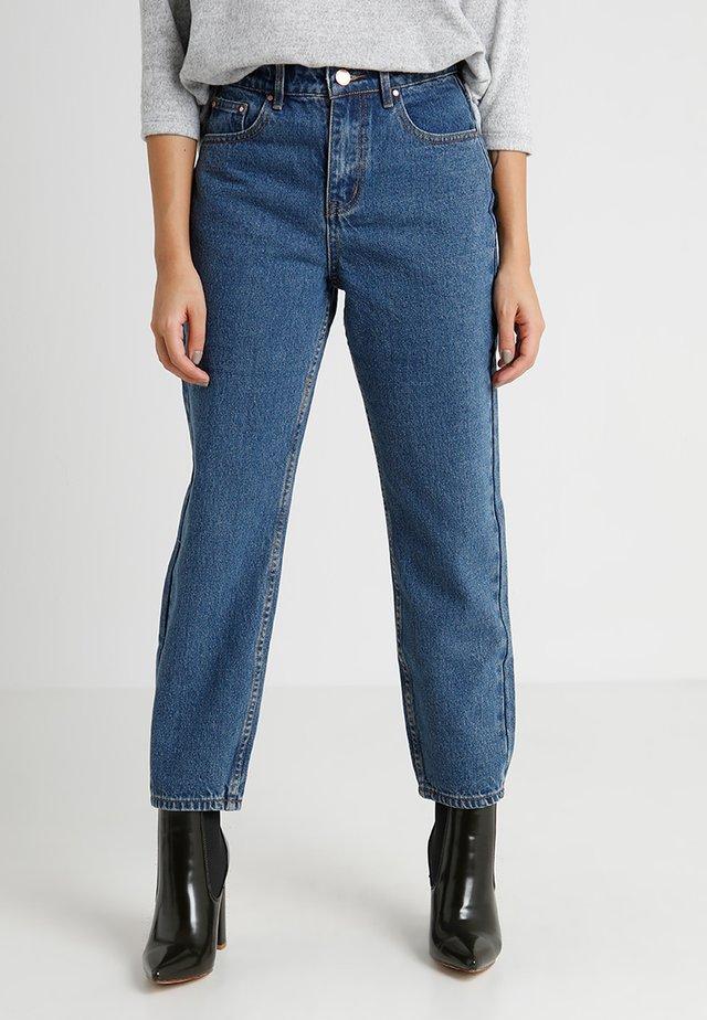 STRAIGHT  - Straight leg jeans - mid denim