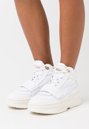 DEVA  - Baskets montantes - white/marshmallow