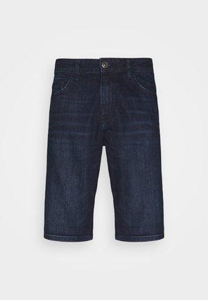 JOSH - Denim shorts - dark stone wash denim