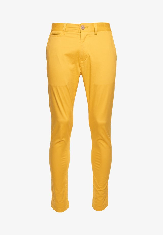 Chinos - yolk yellow