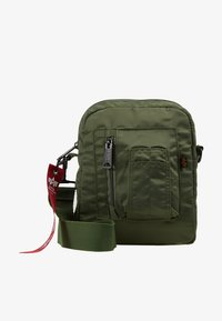 Alpha Industries - CREW CARRY BAG - Across body bag - sage green - 1