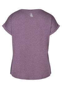 Zizzi - T-shirt print - purple - 5