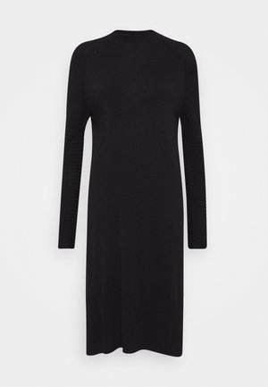 QUIL - Robe pull - black