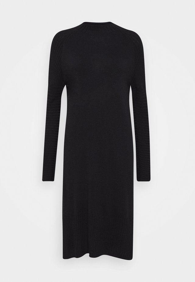 QUIL - Jumper dress - black