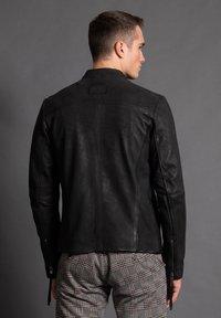 Tigha - WILSON  - Leather jacket - black - 2