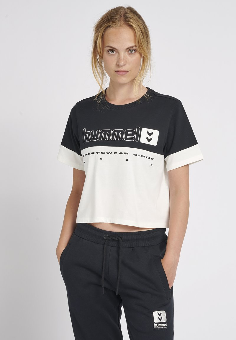 Hummel - T-shirts print - black