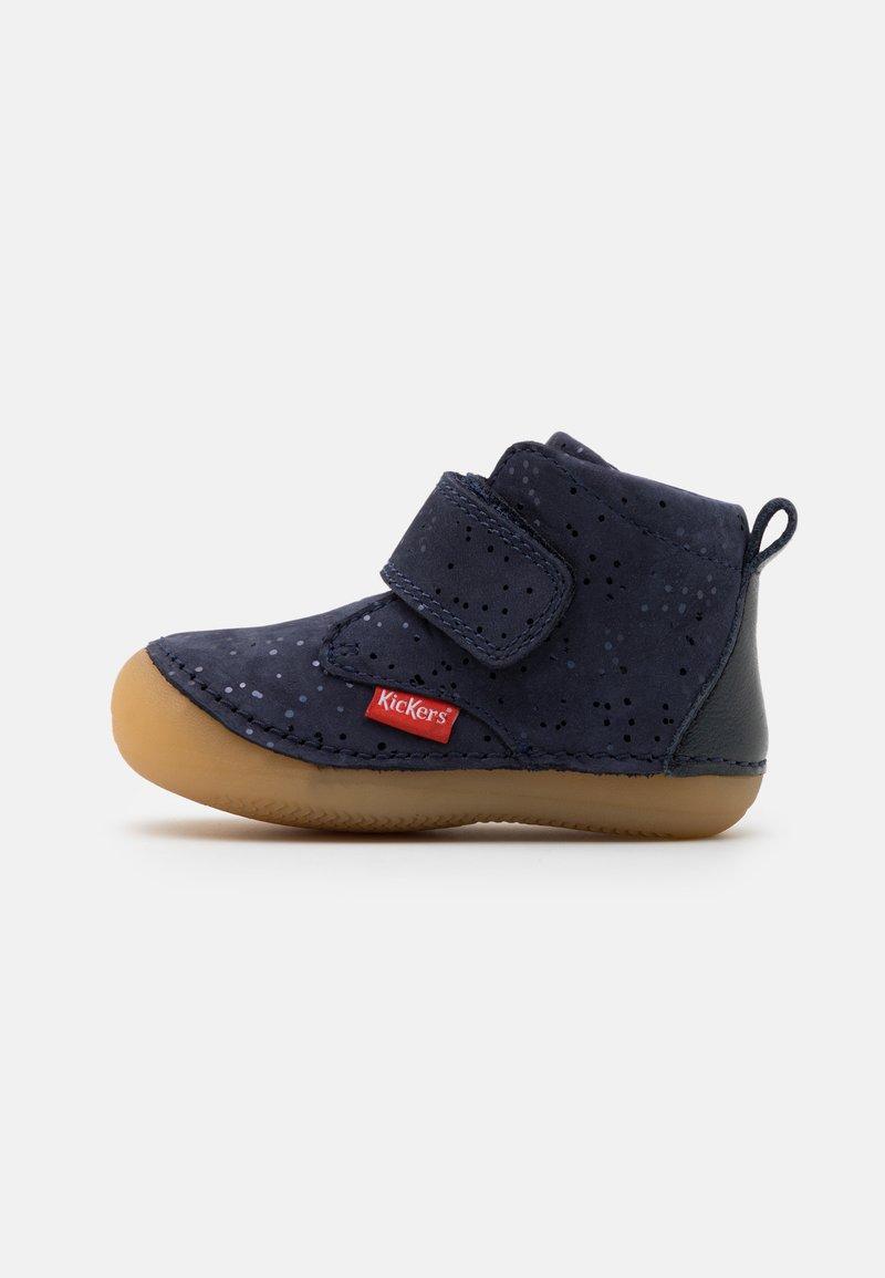 Kickers - SABIO - Dětské boty - marine metallique
