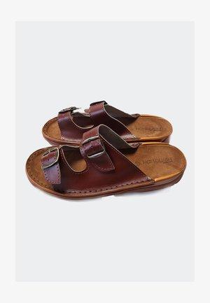 Sandały - tan brown
