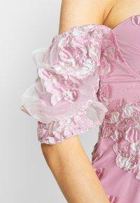 Missguided - PUFF SLEEVE MINI DRESS - Vestito elegante - pink - 4