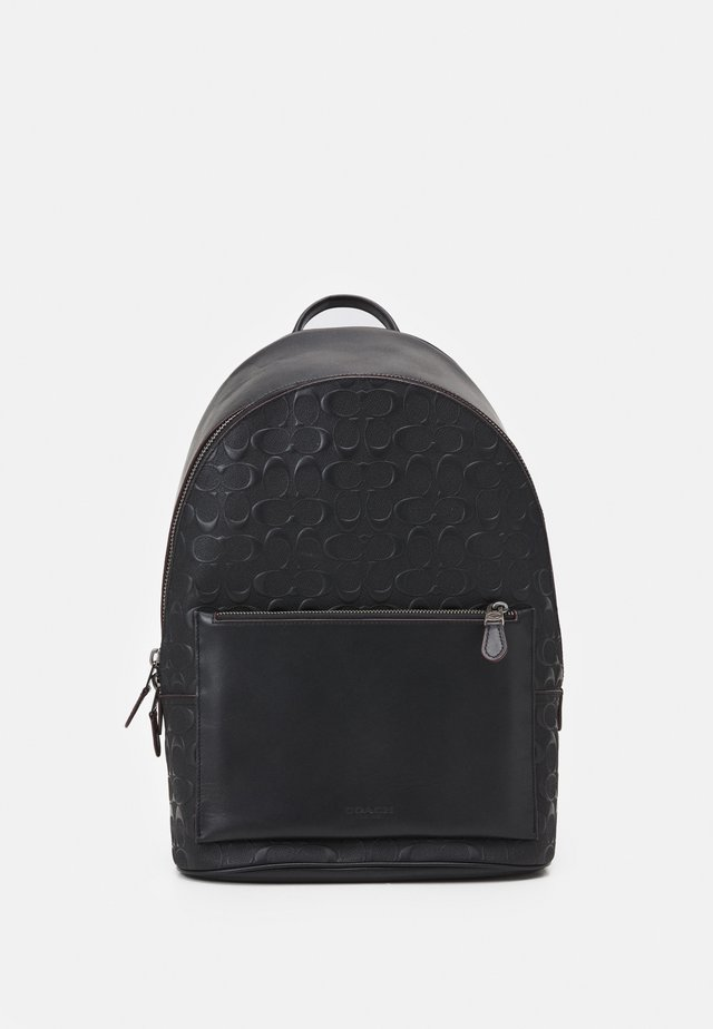 METROPOLITAN SOFT BACKPACK UNISEX - Reppu - black