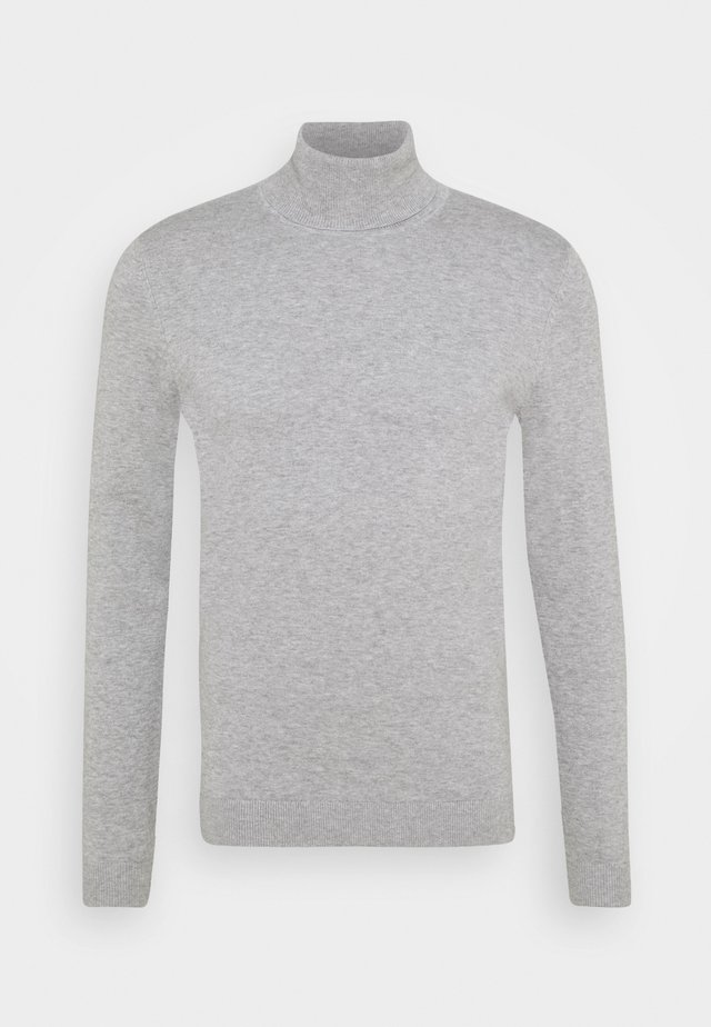 Trui - light soft grey melange