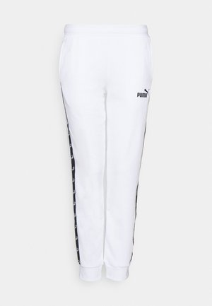 AMPLIFIED - Tracksuit bottoms - white