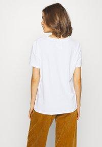 Superdry - ELITE CREW TEE - T-shirts - white - 2
