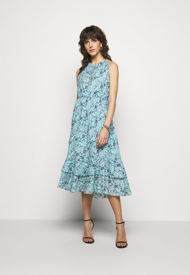 CAROLINA DRESS - Maxi šaty - blue/multi