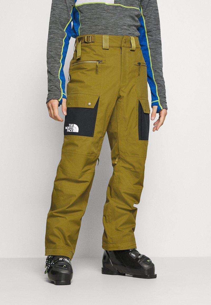 The North Face - SLASHBACK  - Zimní kalhoty - green/black