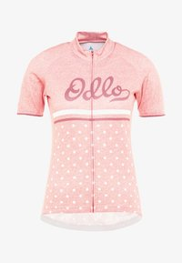 ODLO - STAND UP COLLAR FULL ZIP FUJIN PRINT - T-shirts print - faded rose - 4
