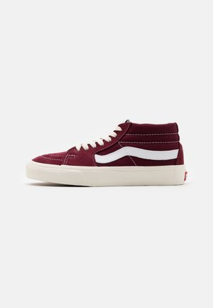 SK8 MID UNISEX  - Sneakersy wysokie - port royale/marshmallow