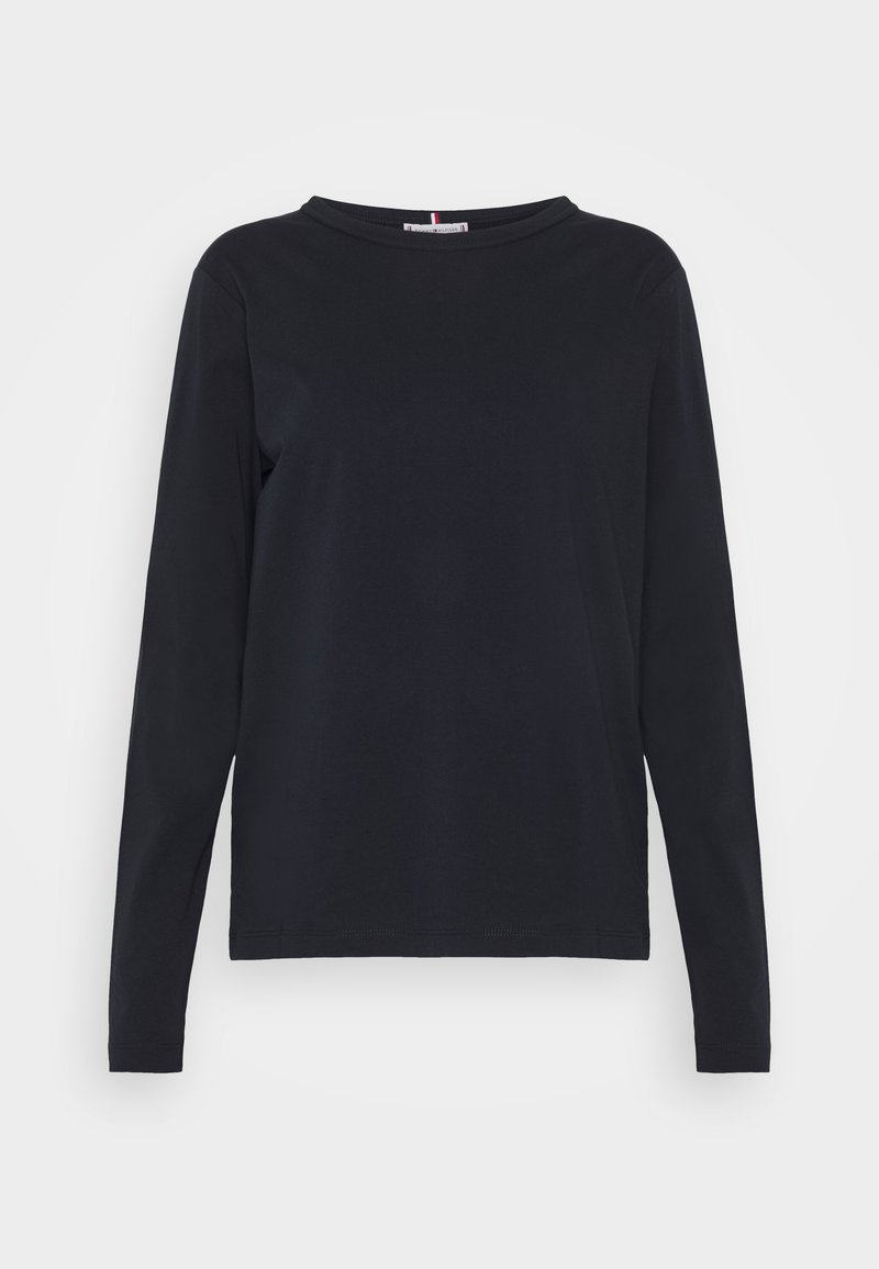 Tommy Hilfiger - RELAXED TEE - Long sleeved top - desert sky