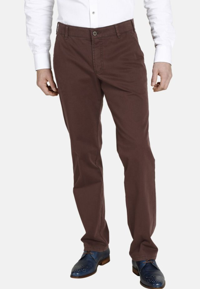 DUKE ERIC - Broek - rust brown