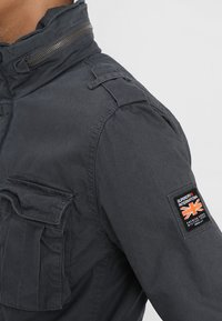 Superdry - CLASSIC ROOKIE MILITARY JACKET - Summer jacket - carbon grey - 4