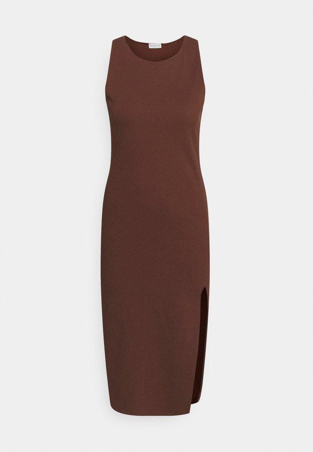 ROSA DRESS - Korte jurk - soil