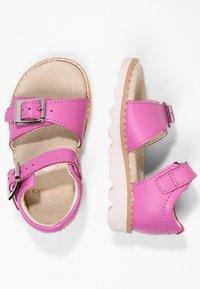 Clarks - CROWN BLOOM  - Sandals - pink - 1