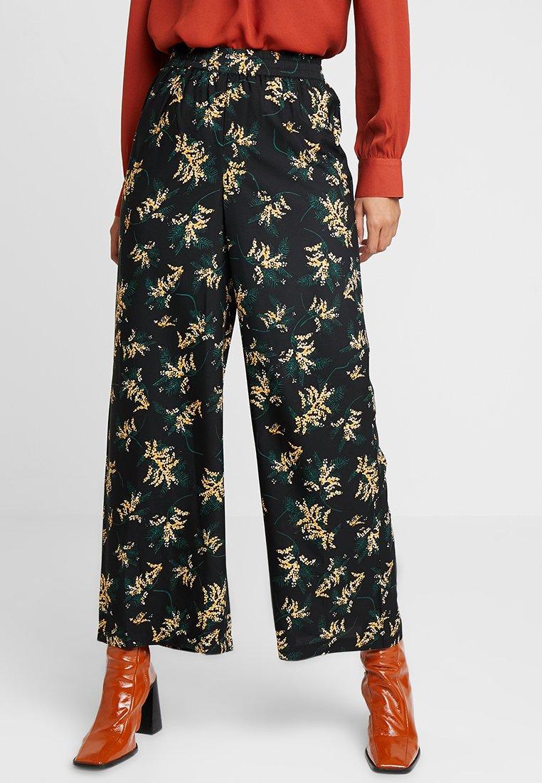 ICHI - IXLEAF PA - Pantalon classique - Black