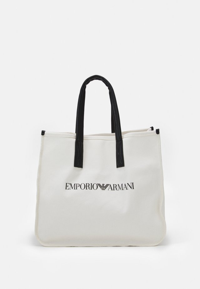 SET UNISEX - Shopping Bag - white