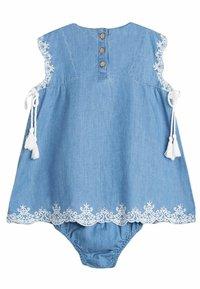 Dadati - Denim dress - blue - 1