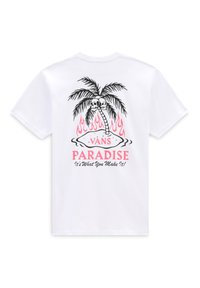 Vans - MN HEATWAVE PARADISE SS - Print T-shirt - white - 1