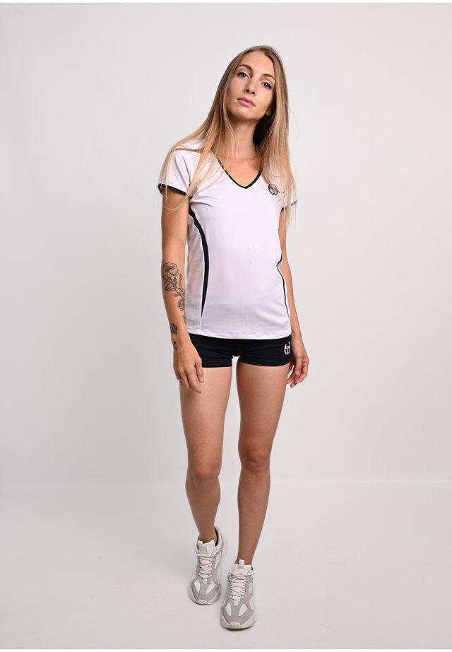 T-SHIRT EVA  - T-shirt imprimé - white