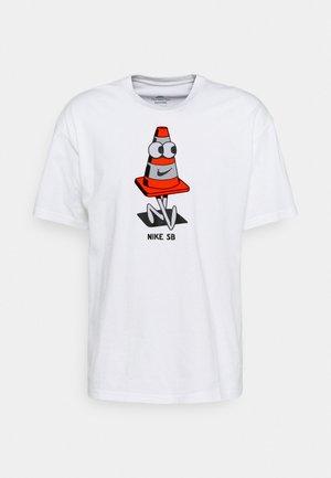 TEE CONEY UNISEX - Print T-shirt - white