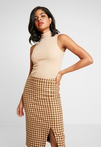 Nly by Nelly - TURTLENECK - Topper - beige - 0