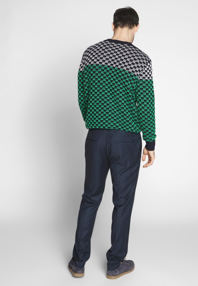 MOTT CLASSIC IN YARN-DYED PATTERN - Chinos - combo e