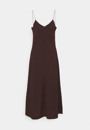 VALERIE LONG SLIP - Cocktail dress / Party dress - chocolate