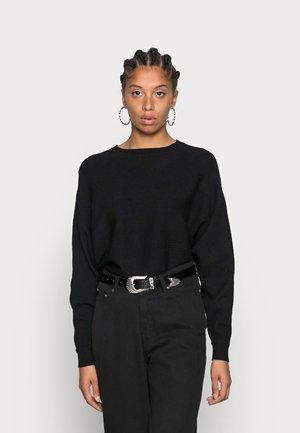 NMSHIP O-NECK - Trui - black
