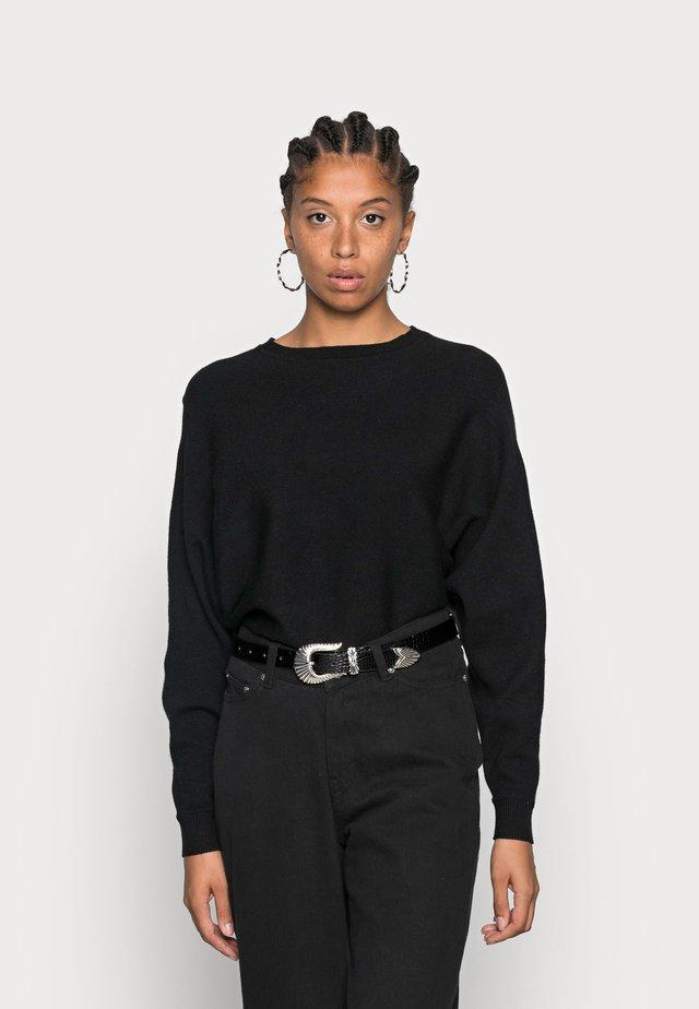NMSHIP O-NECK - Jersey de punto - black