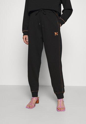 BOTTOMS - Teplákové kalhoty - black beauty
