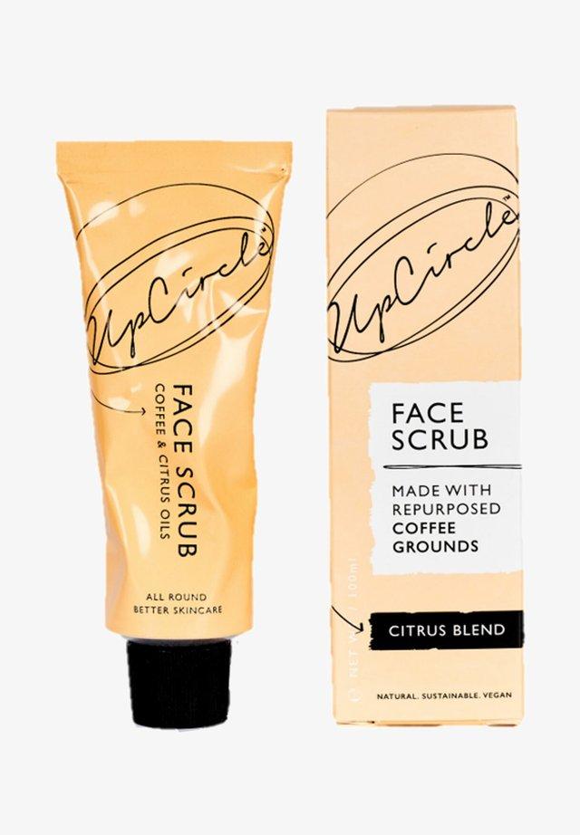 UPCIRCLE COFFEE FACE SCRUB CITRUS BLEND - Face scrub - -