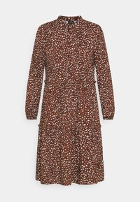 Vero Moda - VMHARPER DRESS - Shirt dress - brown - 4