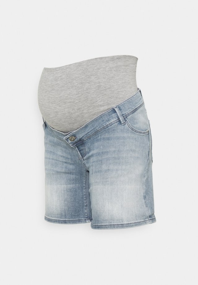 Denim shorts - light wash